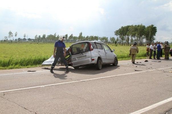 Жуткое ДТП на трассе Биробиджан-Хабаровск