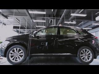 Lexus RX450h обработан профессионалами в 4 слоя CeramicPro 9H
