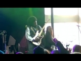 Afroman slaps female on stage