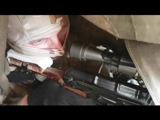 Тактико-специальное учение с курсантами школы снайперов в Хабаровском крае