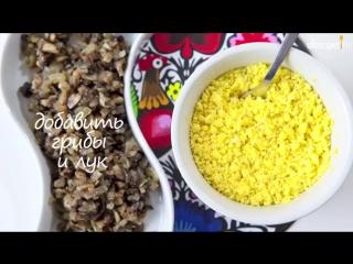 Фаршированные яйца видео-рецепт