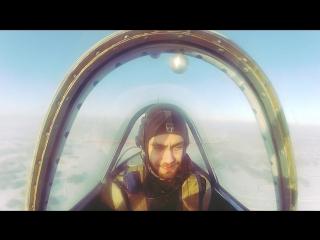 Полёт на ЯК-52 с фигурами высшего пилотажа