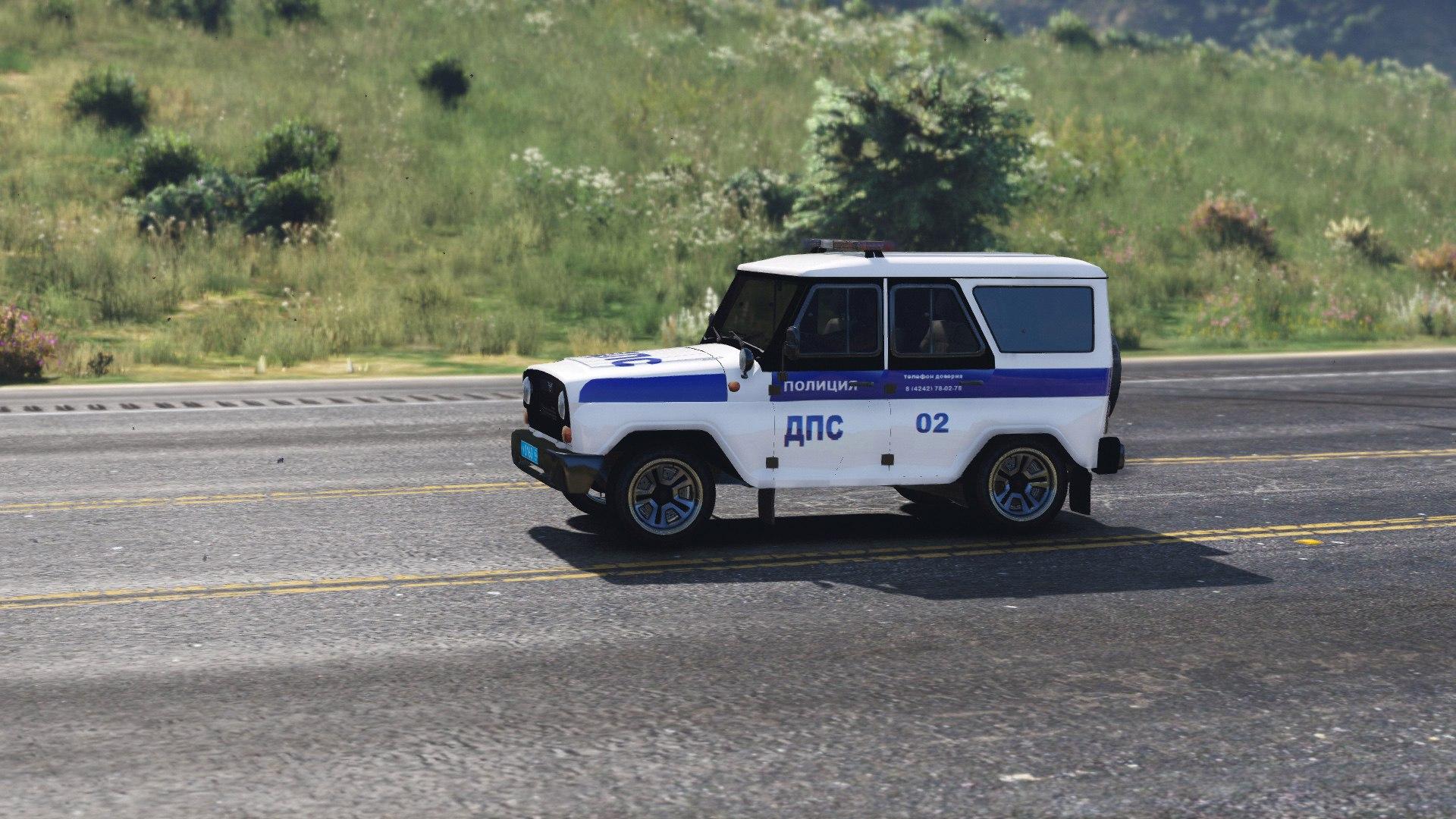 УАЗ Хантер - ДПС для GTA V - Скриншот 2