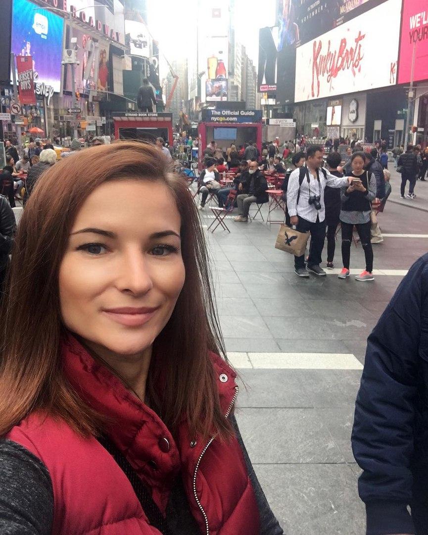 Марина Мороз  в Нью-Йорке
