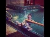 Дочь Максима Галкина и Аллы Пугачевой: плавание