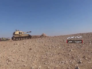 Progress of the Syrian army and its allies in the two villages east Brive Homs and violent battles with militants