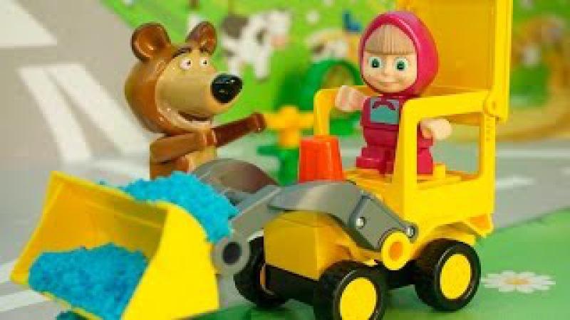 Мультфильмы Маша и Медведь новые серии Три товарища.Мультики для детей Мультик ...