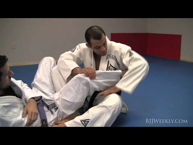 Ryron Gracie - Open Guard Footlock - BJJ Weekly Issue 032