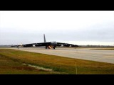B-52's Launching - Minot Air Force Base