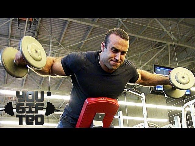 Куда вы без плеч Тренировка плеч и рук Сергей Базаров
