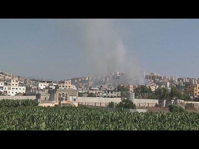 Ливан: столкновения в лагере беженцев