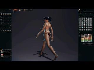 Vindictus без лишнего трепа - Модельный ряд нижнего белья на класс Arisha (часть 3)