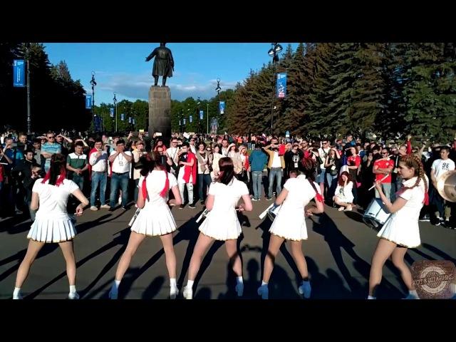 Кубок конфедераций 2017 Девушки барабанщицы