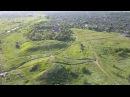 Ансамбль Елизаветинское городище с воздуха, (Краснодарский край) снято на DJI MAVIC PRO