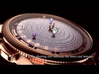 Уникальные часы Van Cleef Arpels Complication Poetique Midnight Planetarium