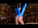 Dancing Girl in Spandex and shiny pantyhose 2