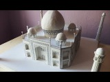 ALL VIDEOS (5x)  How to make a model of Taj Mahal