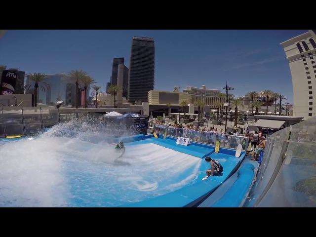 FLOW Tour 2017   Pro Flowboard   Полуфинал Planet Hollywood Las Vegas