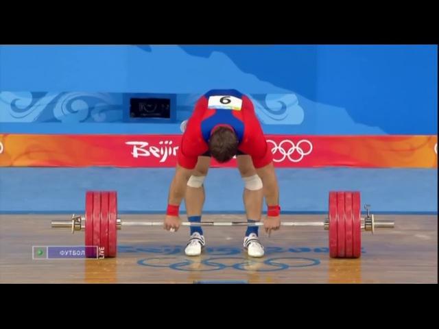 Дмитрий Клоков на Олимпиаде в Пекине. 6 подходов www.fit4live.ru