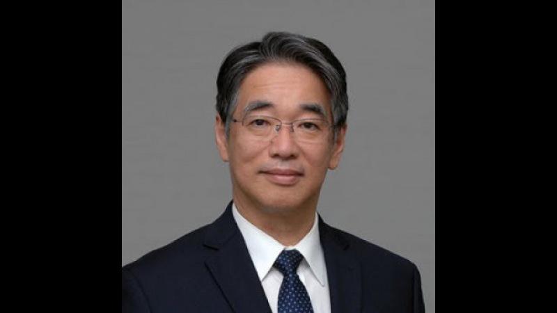 Посол Японии Тоёхаси Кодзука на открытии показов современного Японского кино