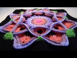 Crochet Flower 3D Granny Square 2