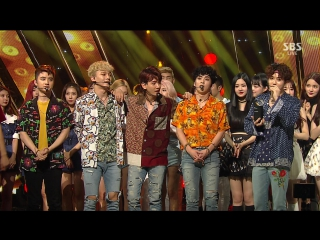 FULL CUT 170730 SBS Inkigayo @ EXO - Ko Ko Bop + 4th Win