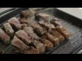 Как правильно и вкусно есть корейский 삼겹살(самгёпсаль)
