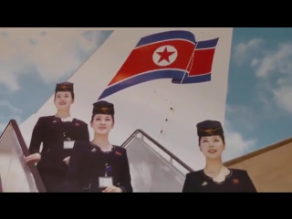 Северокорейские стюардессы в мини-юбках стали героинями календаря