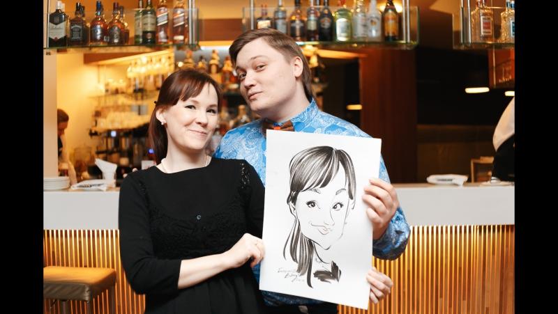 художник шаржист Евгений Баторский на Вашем празднике жизни