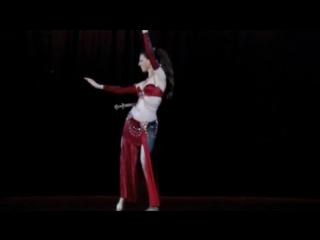 Belly Dancer Rachel- Sword at Sydney Festival 2010 4245