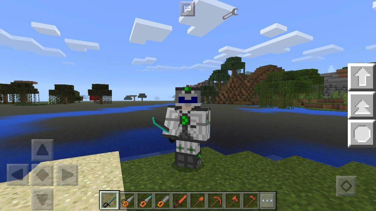 Первый глобальный мод в Minecraft PE 1.0  IndustrialCraft PE