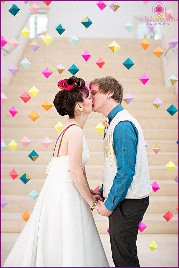 qHewo9OZ2DE - Модные тенденции в оформлении фотозоны на свадьбе в сезоне 2017 (30 фото)