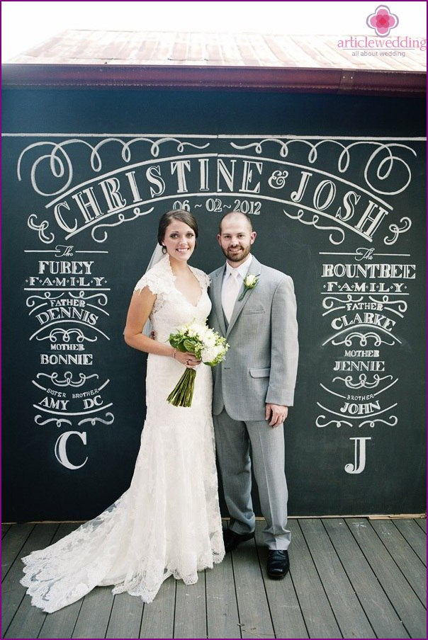 i hGjRs Chs - Модные тенденции в оформлении фотозоны на свадьбе в сезоне 2017 (30 фото)
