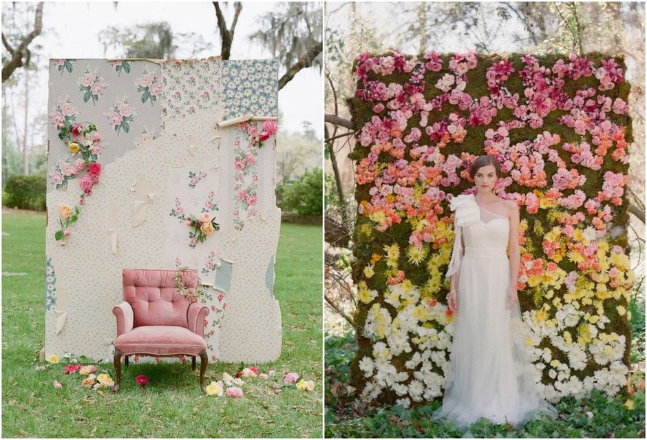 i2UR5CICO58 - Модные тенденции в оформлении фотозоны на свадьбе в сезоне 2017 (30 фото)