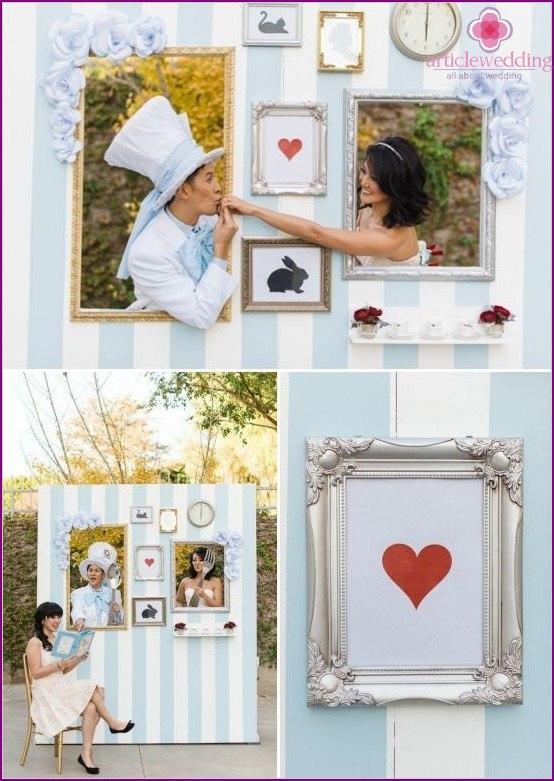 0PWk96LkI28 - Модные тенденции в оформлении фотозоны на свадьбе в сезоне 2017 (30 фото)