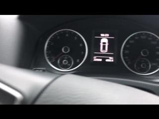 Диагностика VW Tiguan, ремонт битого авто на дилерской станции