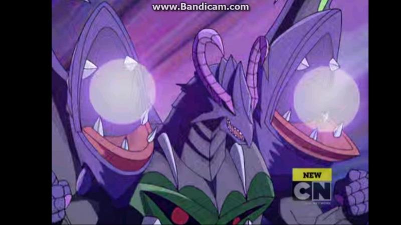 Фотон Гладиатор -1000 всем противникам, выводит из боя доспехи, мобильную машину Драгоноида Колоссуса и бакуганов, чей начальный