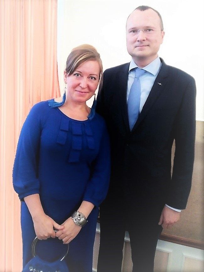 наталия пономарева, дмитрий зылев, награждение ветеранов ацбк