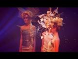 Выход моделей в образах от мастерской Людмилы Тарасовой на концерте студии ЛАРИСА