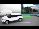 Range Rover Evoque 12 модельного года: система помощи при парковке