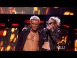Billy Idol &amp Miley Cyrus - Rebel Yell (iHeartRadio Music Festival 2016)