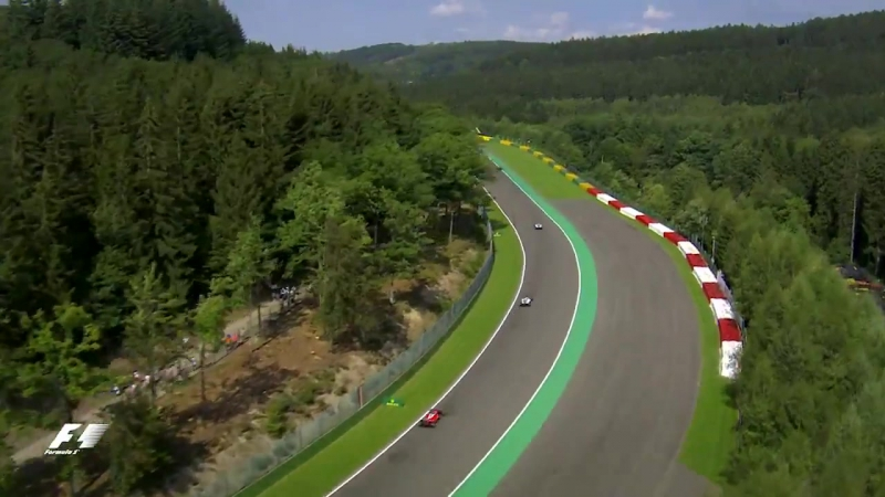 Spa-Francorchamps from the sky