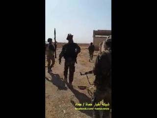 Сирийская армия контролирует части города Тайбет аль-Имам с северной и восточной сторон