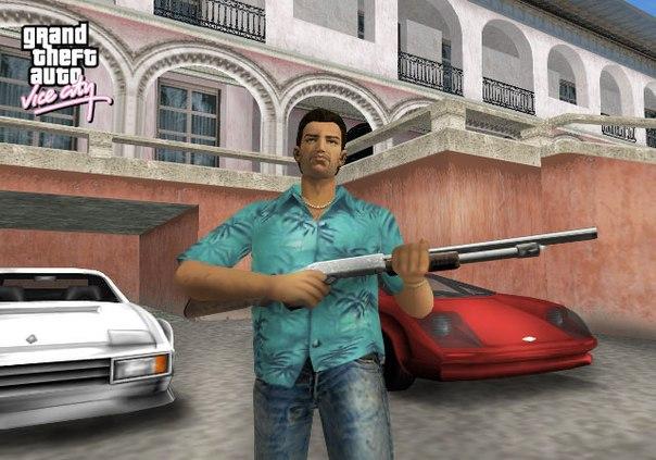 Grand Theft Auto: Vice City (2003) PC | Чистая версия - Скриншот 2