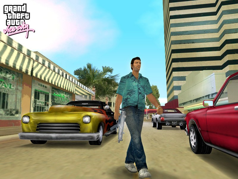 Grand Theft Auto: Vice City (2003) PC | Чистая версия - Скриншот 3