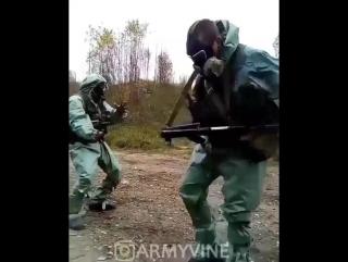 Танец в ОЗК. Бомба