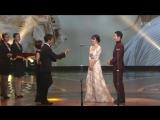 Церемония награждения KBS Drama Awards 2016 Сон Джун Ки и Сон Хе Гё