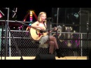 11 year old Caroline Dare Live at the County Fair - Our Song (Taylor Swift Cover)