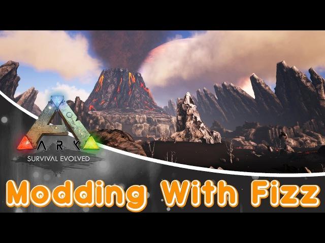 ARK Survival Evolved MOD | The Volcano Map