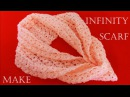 Bufanda infinita en punto peruano a Crochet Knitting infinity scarf crochet in minutes